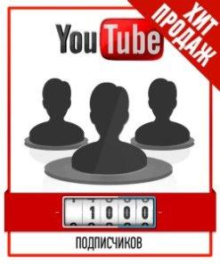 Привлечение 1000 Подписчиков на YouTube