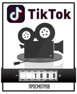 Привлечение 1000 просмотров в Тик Ток